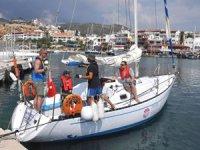 Datça'da sertifikalı yelkenciler yetişiyor