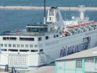 'Piri Reis Üniversitesi' gemisi, Bandırma Limanı'na yanaştı