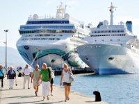 Yılın ilk yarısında Türkiye limanlarına 86 kruvaziyer yanaştı