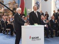 SOCAR Polymer'in açılışı Azerbaycan'da gerçekleşti