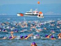 Troya Açık Su Yüzme Yarışı gerçekleştirildi