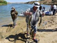 Kırıkkale'de Turna Balığı Tutma Yarışı düzenlendi