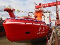 'XUELONG 2', Jiangnan Tersanesi'nde suya indirildi