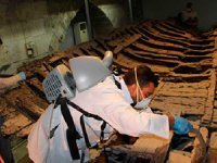 Girne'deki 2 bin 300 yıllık batık gemi restore edildi