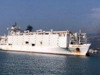 M/V AWASSI EXPRESS, İskenderun Limanı'na yanaştı