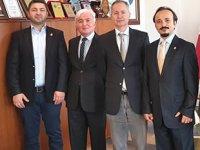 ODEMED heyeti, Piri Reis Üniversitesi'ni ziyaret etti