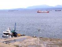 Sinop'ta havalar düzeldi, gemiler limandan ayrıldı