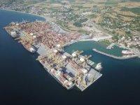 Türkiye'nin en büyük rıhtımı Asyaport'ta