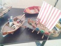 Kütahya'da ahşap gemi sergisi açıldı