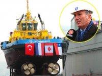 UZMAR, AltaGas Terminali için ürettiği römorkörü denize indirdi