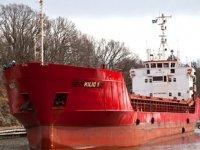 Yunanistan'da 'Kılıç 1' isimli Türk bandıralı balık taşıyıcı gemide yangın çıktı