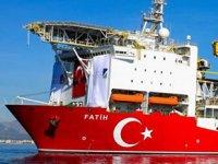 Fatih gemisine deniz üstü operasyonlara başlandı