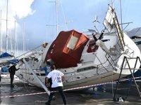 Marmaris'te hortumun verdiği hasar 8 milyon lira olarak açıklandı