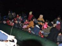 Kuşadası'nda 60 kaçak göçmen yakalandı