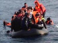 Dikili'de 44 kaçak göçmen yakalandı