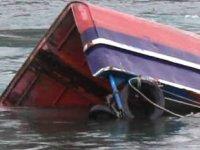 Marmara Ereğlisi'nde balıkçı teknesi battı