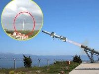 Türkiye'nin ilk deniz füzesi 'Atmaca' Sinop'ta test edildi