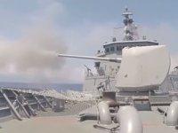 Deniz Kuvvetleri, Doğu Akdeniz'de atış eğitimi yaptı