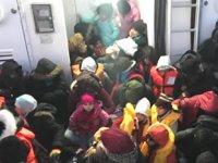 Kuşadası'nda 53 kaçak göçmen yakalandı