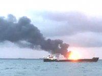 Kerç Boğazı'ndaki gemi yangınında 14 ölü, 6 kayıp var! Kurtarılanlar arasında 8 Türk de var...