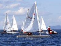 Türkiye Yelken Federasyonu Kış Kupası Yarışları başladı