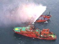 Kerç Boğazı'nda yanan gemiler ABD yaptırımlarına takılmış