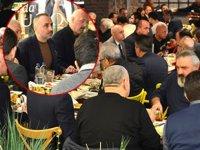 Yeşilyurt Limanı'nda iş ortakları, kahvaltıda bir araya geldi