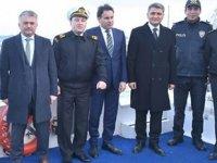 Balıkesir Valisi Ersin Yazıcı, Sahil Güvenlik devriyesine katıldı