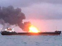 Kerç Boğazı'ndaki kayıp denizcileri arama çalışmaları durduruldu