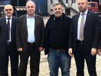 Salim Özpak, Ereğli tersaneler bölgesinde incelemelerde bulundu