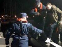 Yaralı Rus mürettebatın yardımına Türk Sahil Güvenlik ekipleri yetişti