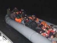 Kuşadası'nda 49 kaçak göçmen yakalandı