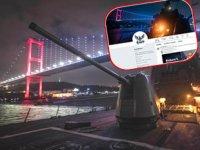 ABD Donanması, Twitter hesabında İstanbul Boğazı'nı profil fotoğrafı yaptı