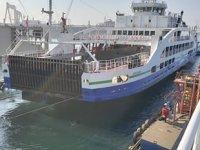 GESTAŞ, filosundaki gemileri yaz sezonu öncesi bakımdan geçiyor