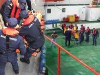 Diyabet hastasının yardımına Sahil Güvenlik ekipleri koştu