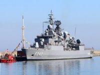 TCG Fatih, 9'ncu Deniz Üssüne yanaşan ilk gemi oldu