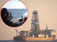 'DEEPSEA METRO-1' isimli sondaj gemisine Deniz Kuvvetleri refakat ediyor