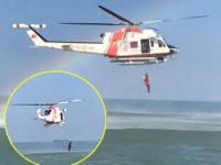 Sahil Güvenlik, Samsun'da arama-kurtarma tatbikatı gerçekleştirdi
