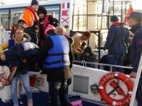 Ayvacık'ta 116 kaçak göçmen yakalandı
