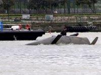 Haliç'te yelkenli tekne battı, yat kulübü öğrencileri kurtarıldı