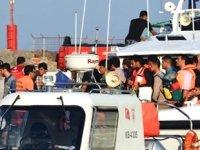 Dikili'de 41 düzensiz göçmen yakalandı