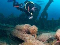 Çanakkale Boğazı'ndaki batık savaş gemileri turizme kazandırılacak