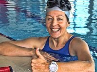 Birgül Erken, Şehitler için 104 metre yüzecek