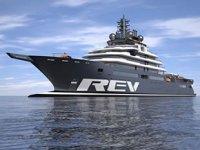 'REV' isimli dünyanın en büyük süperyatı Romanya'da inşa ediliyor