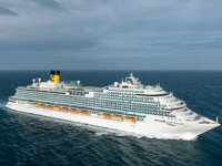 Costa Cruises'un yeni gemisi 'Costa Venezia' suya indirildi