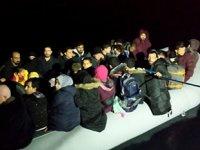Didim'de 60 düzensiz göçmen yakalandı