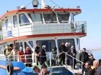 Malatya'da 'Yaşlılar Haftası'na özel tekne turu düzenlendi