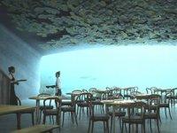 Avrupa'nın ilk su altı restoranı Norveç'te açıldı