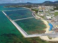 Okinawa'daki ABD üssünün inşasına başlandı