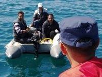 Botları arızalanan Türkler'i Sahil Güvenlik kurtardı